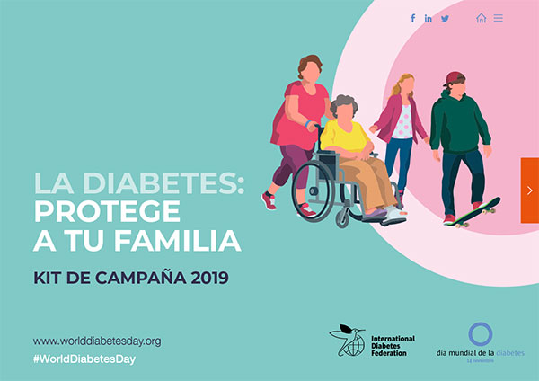 logotipo del día mundial de la diabetes jeep 2020