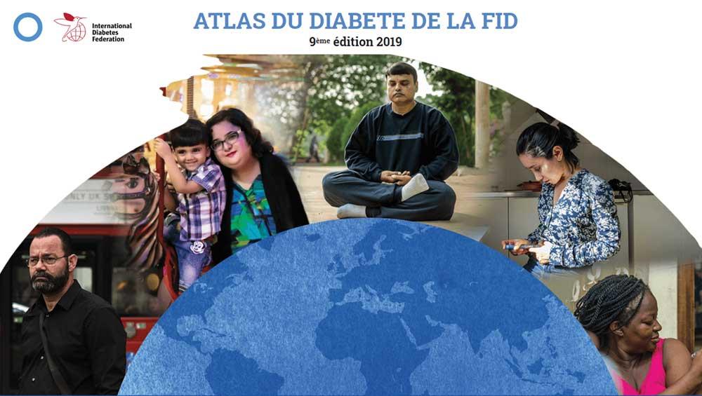 Diabetes Atlas cover image FR