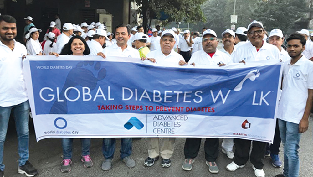 Global diabetes walk